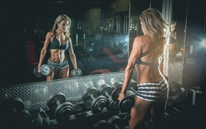 Picture erotic, girl, sport, training
