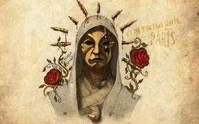 Wallpaper Hollywood Undead, artwork, Danny, Notes from the Underground