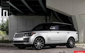 Picture car, Land Rover, Range Rover, jeep, vossen, VVSCV4