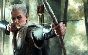 Wallpaper Elf, The Lord of the Rings, The hobbit, Legolas, the leader of the elves of ...