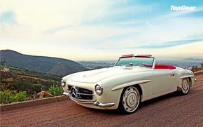 Picture car, white, retro, photo, Wallpaper, Top Gear, white, mercedes, car, beautiful, Mercedes, benz, photo, retro, …