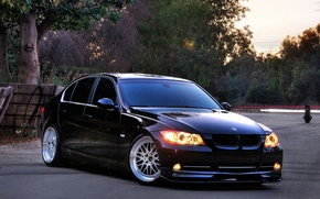 Picture auto, bmw, BMW, black