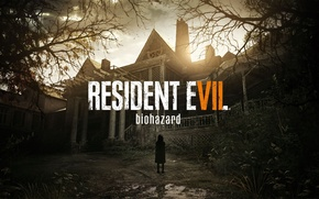 Wallpaper game, PS4, mystery, living dead, spirit, PlayStation, Shinji Located Know, evil, mansion, Resident Evil, by ...