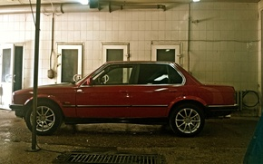 Picture BMW, BMW, red, E30, all-wheel drive, 325ix