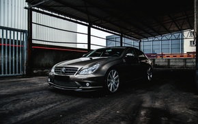 Picture Mercedes-Benz, AMG, CLS 55, frontside