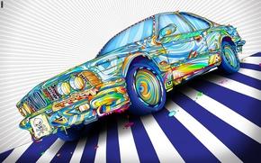 Picture BMW, Matei Apostolescu, Psychedelia, That Car