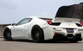 Picture Ferrari, supercar, Ferrari, 458 Spider, LB Performance