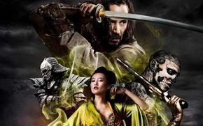 Picture sword, katana, Japan, samurai, Japan, sword, katana, Keanu Reeves, samurai, Keanu Reeves, 47 Ronin, 47 …