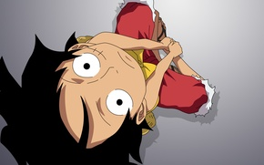 Picture anime, art, one piece, One Piece, Monkey D. Luffy