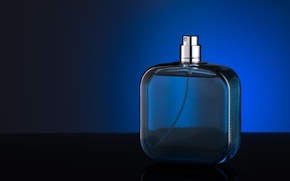 Picture glass, perfume, bottle