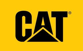 Picture logo, cat, construction, caterpillar, mining