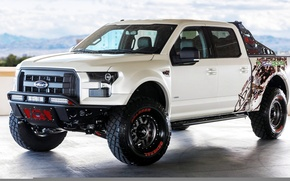 Picture White, Tuning, Ford F-250, PickUp, AD Xt EcoBoost