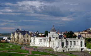 Picture the sky, HDR, Kazan