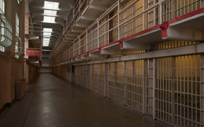 Picture interior, camera, prison, Alcatraz