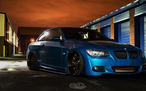 Picture bmw, turbo, tuning, power, germany, low, e92, stance