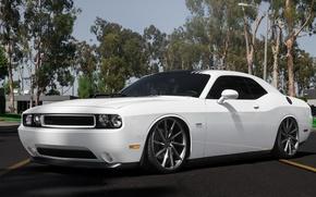 Picture Dodge, Challenger, Vossen, Wheels, Graphite, VFS1