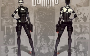 Picture Marvel Comics, Domino, Neena Thurman
