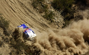 Picture turn, skid, Volkswagen, Touareg Race