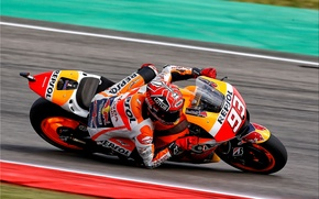 Picture Honda, MotoGP, HRC, Marc Marcuez, Tilt