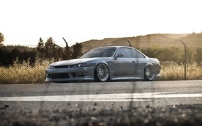 Picture road, tuning, coupe, nissan silvia s14, Nissan Silvia