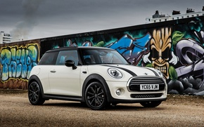 Wallpaper Mini, Cooper, mini, grafiti, Cooper, F56