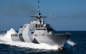 "Picture sea, ship, combat, coastal, USS Freedom, ""Freedom"", (LCS-1)"