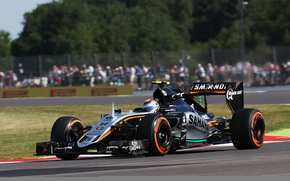Picture England, Force India, Silverstone, Sergio Perez, Britisch Grand Prix, VJM08.