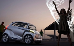 Picture the evening, mini, Peugeot, BB1