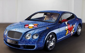 Wallpaper auto, bentley, airbrushing