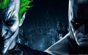 Picture Joker, gate, batman arkham asylum