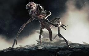 Picture paws, alien, tail, alien, Alien, JSMarantz, Rock Grubber