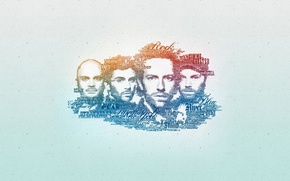 Picture texture, music group, Coldplay, Coldplay, music group