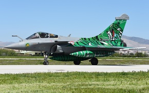 """Picture fighter, the airfield, multipurpose, Rafale, """"Rafale"""""""