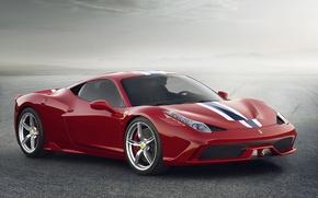 Picture Ferrari, Red, 458, Italy, Speciale, 2014