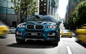 Picture machine, auto, speed, BMW, jeep, Boomer, BMW X6, Beha, икс6
