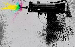Wallpaper color, vector, 157, Weapons