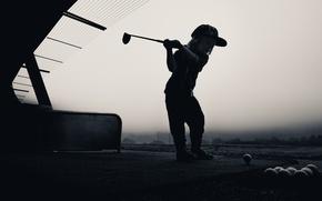 Wallpaper sport, girl, Golf