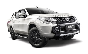Picture white background, Mitsubishi, pickup, Mitsubishi, Triton, Triton