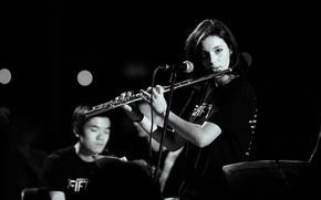 Picture Corinne, flauto, musica