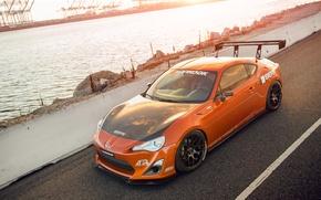 Picture tuning, Toyota, tuning, orange, Scion, Scion, fr-s, FR-s
