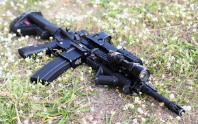 Picture weapons, machine, Heckler & Koch, Hk416D