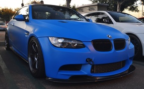 Picture BMW, blue, clear