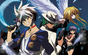 Picture Action, Anime, Science fiction, BlackCat