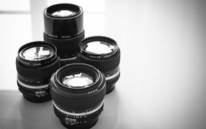 Picture light, glass, window, reflection, shadow, lenses
