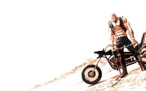 Picture chain, meat, bike, chopper, Astro City, The Dark Age