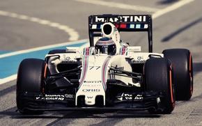 Picture formula 1, Williams, racing, martini, Bottas, fw37