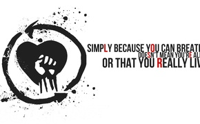 Picture music, logo, band, punk rock, rise against, revolutions per minute, black masks and gasoline