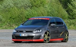 Picture tuning, Volkswagen, Golf, Golf, Volkswagen, Type 5G, GTD, 2015, MR Car Design