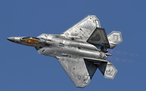Picture the sky, weapons, F-22 Raptor