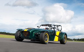 Picture track, stig, Caterham, the Stig, Superlight, R600